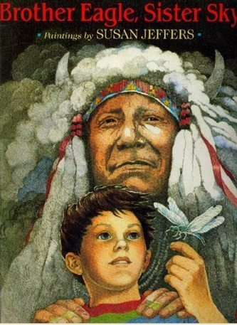 चील भाई आकाश बहन : सूज़न जेफर्स हिंदी पुस्तक मुफ्त पीडीऍफ़ डाउनलोड | Brother Eagle Sister Sky : Susan Jeffers Hindi Book Free PDF Download